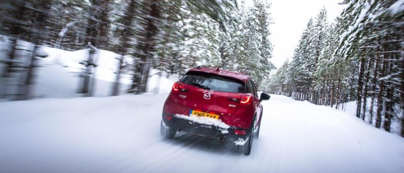 Mazda CX-3 AWD Arctic Drive 2016 15