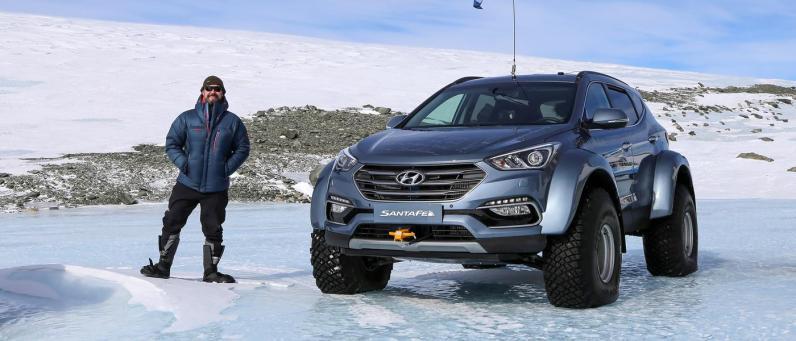 Hyundai Santa Fe 2017 Arctic Adventure 06