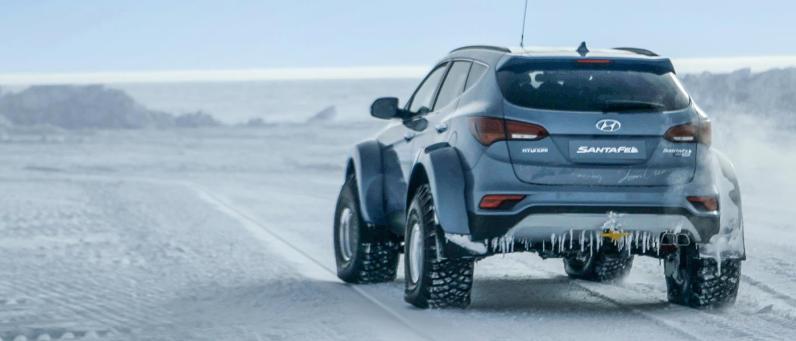 Hyundai Santa Fe 2017 Arctic Adventure 11
