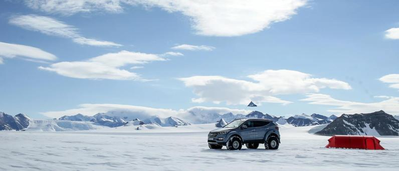 Hyundai Santa Fe 2017 Arctic Adventure 12