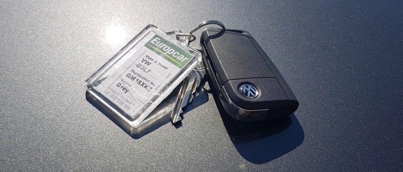 Volkswagen Golf 2018 Keys - Europcar