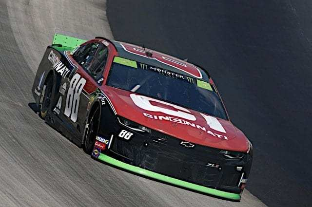 Alex Bowman Tops Both Cup Series Practices Friday at Auto Club Speedway