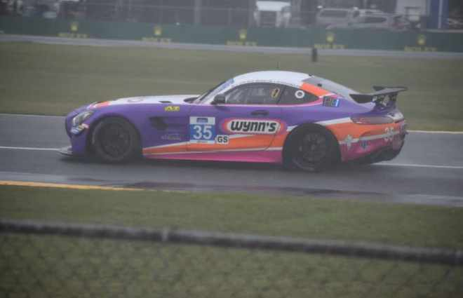 Jeroen Bleekemolen Quickest in Wet and Windy Pilot Challenge Practice