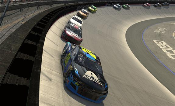 Even With a Little Added Pressure, William Byron Stays Calm for Bristol iRacing Win