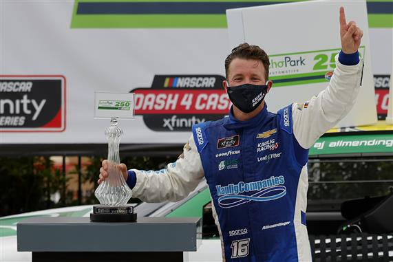 Xfinity Breakdown: AJ Allmendinger Takes First Oval Track Win, Noah Gragson Cashes In