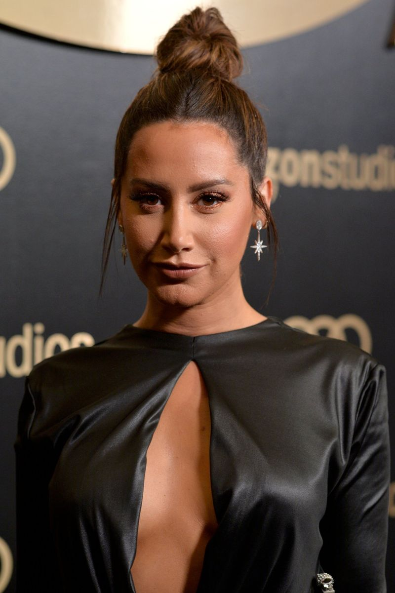 Ashley Tisdale Amazon Studios Golden Globes Celebration