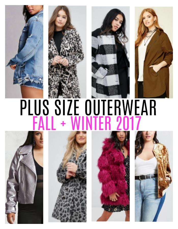 Plus Size Outerwear Fall Winter 2017