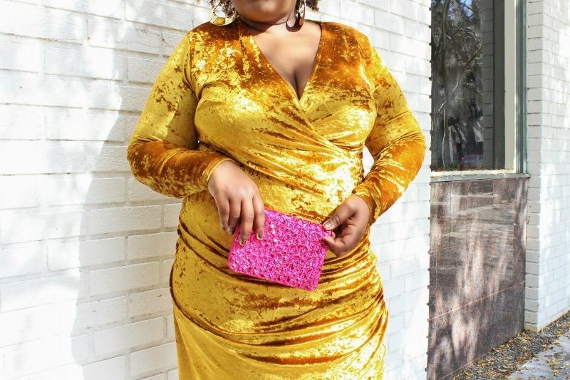 Crushed Velvet Dresses