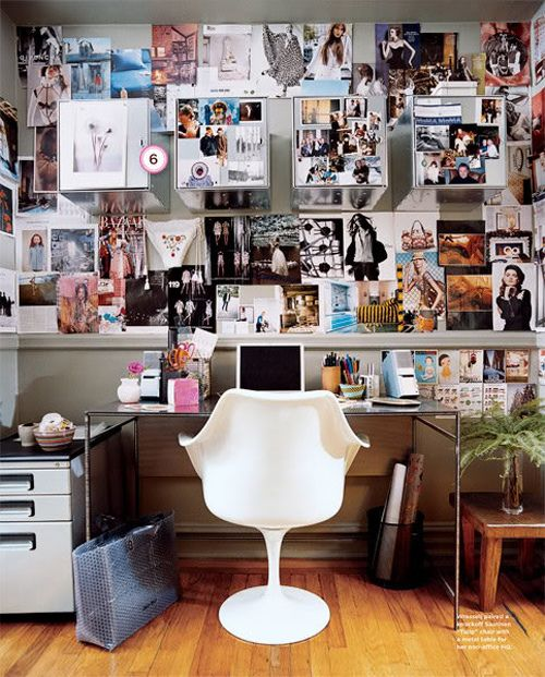 gallery wall vision board