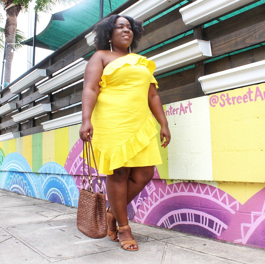 24 Fun Colorful Plus Size Dresses for Summer | FRO PLUS FASHION