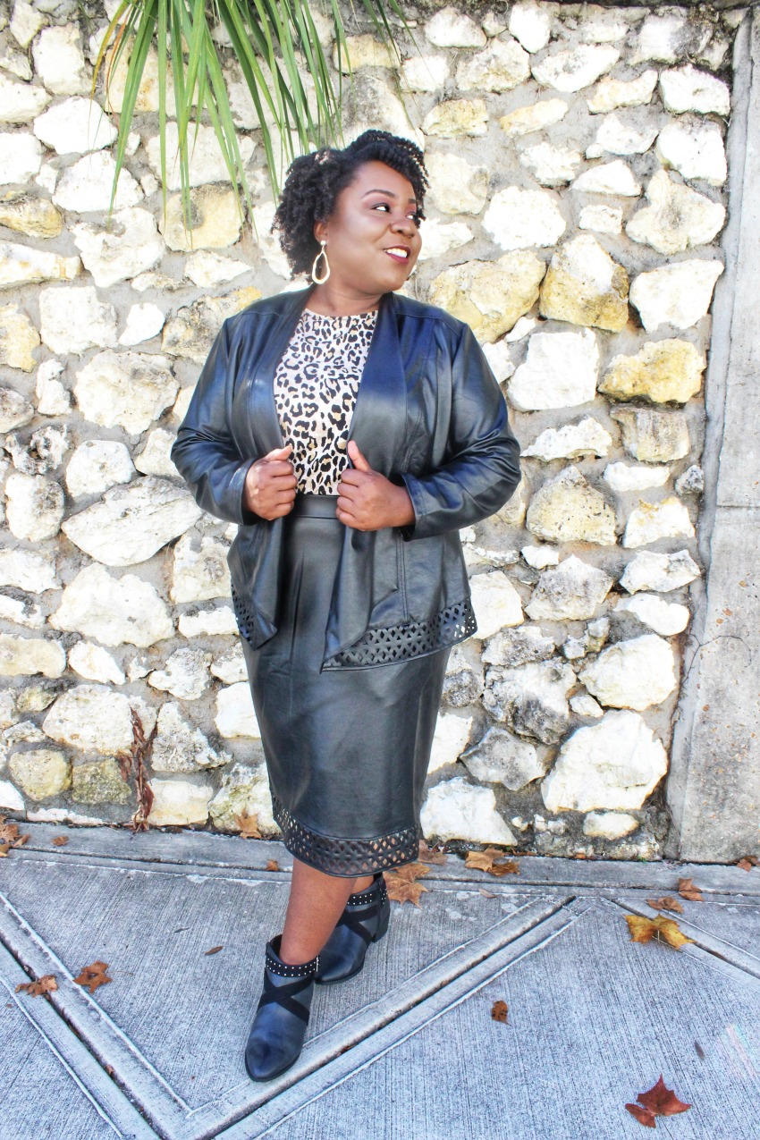 c25b82c4b99 3 Ways to Style Leather and Leopard Together