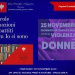 Contro la violenza sulle donne, l'assemblea degli studenti al Liceo di Ceccano, mercoledì 25 novembre.