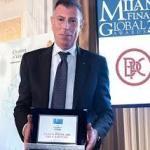 I complimenti di Gianluca Quadrini al nuovo Presidente della Banca Popolare del Cassinate, Vincenzo Formisano.