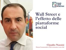 Wall Street e l'effetto delle piattaforme social.
