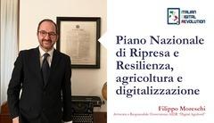Piano nazionale di ripresa e resilienza, agricoltura e digitalizzazione.