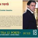 """Frosinone, Teatro: domenica in scena """"L'ombra di Totò""""."""