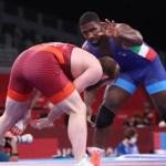 Tokyo 2020, Conyedo bronzo nei 97 kg della lotta libera