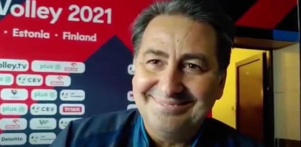 """Volley, campione d'Europa. Il neo ct De Giorgi: """"Bell'inizio, lavoriamo su gruppo giovane""""."""