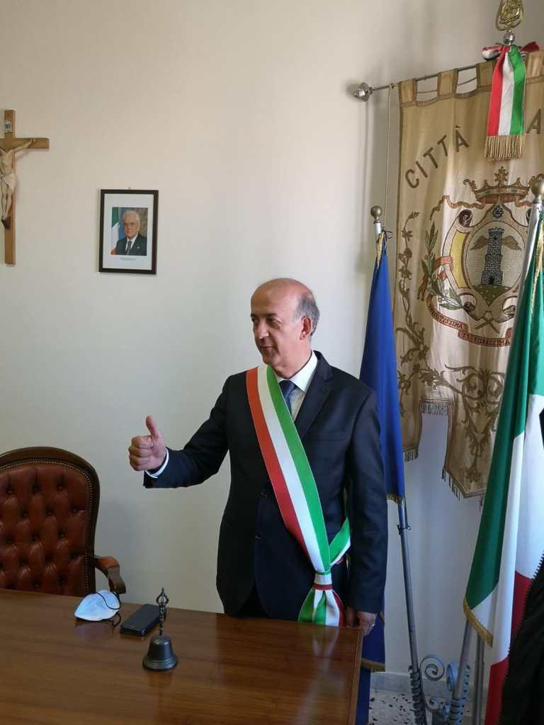 Le prime parole di Maurizio Cianfrocca da sindaco di Alatri.