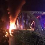 Ponte dell'Industria: un algoritmo avrebbe potuto evitare l'incendio.