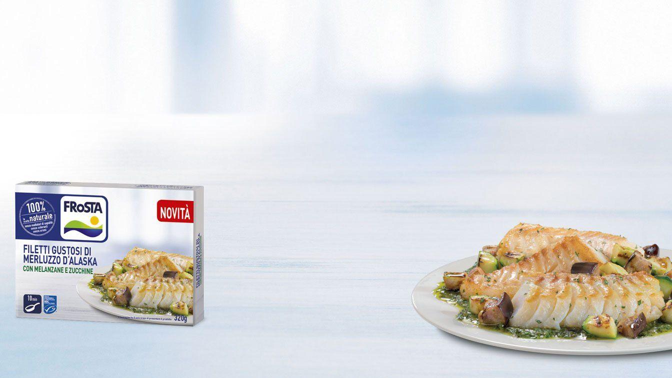 Pacco di filetti di merluzzo Frosta