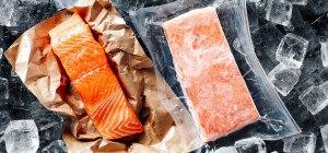 come scongelare il pesce surgelato