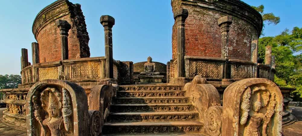 Visit Polonnaruwa, Sri Lanka, one of 8 UNESCO sites in Sri Lanka.