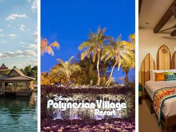 Where to stay on a Moana themed Disney World vacation: Disney's Polynesian Village Resort