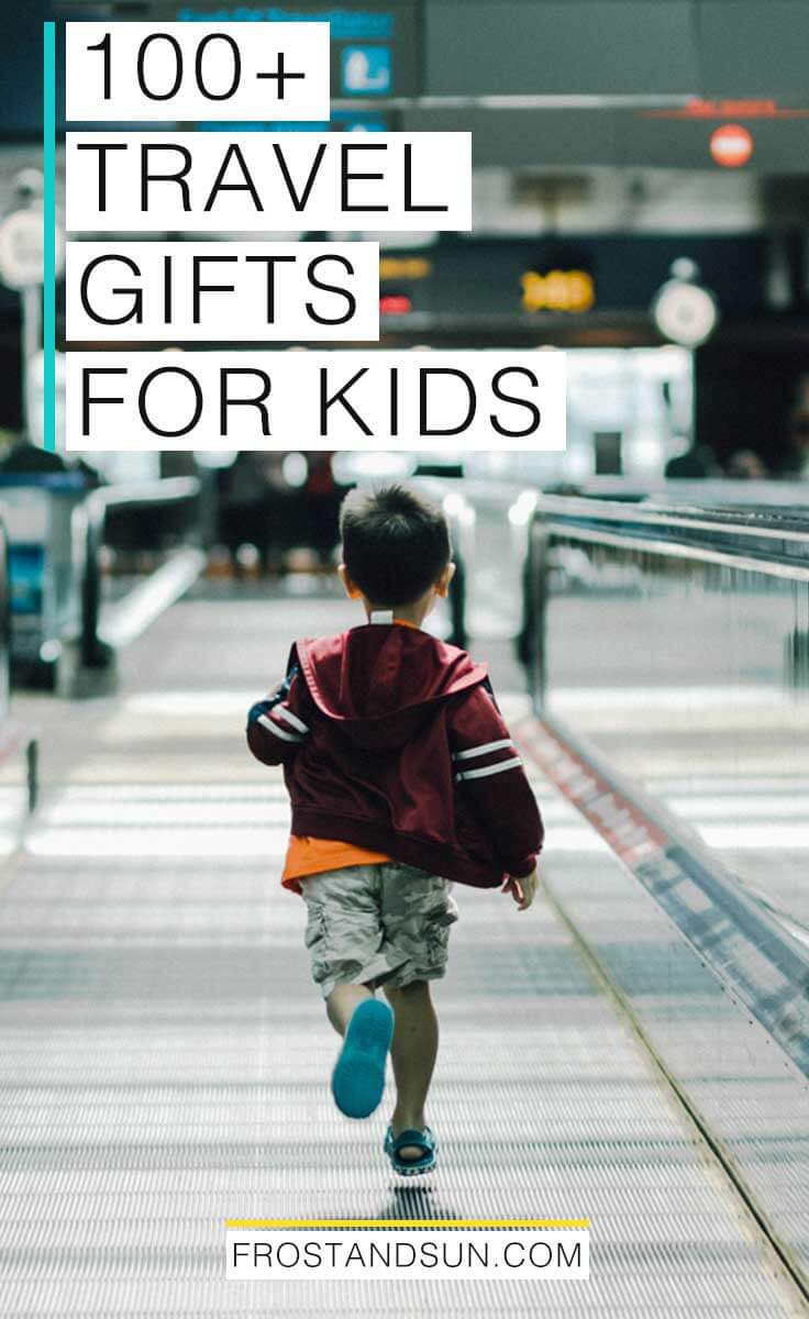 Do you know a kid who loves exploring new cities, hanging out at airports, or taking road trips? Check out this guide to gifts for kids who love travel. Surprise that travel-loving kid in your life with the best gift ever, whether it be for Christmas, Hanukah, a birthday or some other gift giving reason.