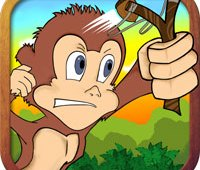 Pocket Monkey iPhone Game Logo