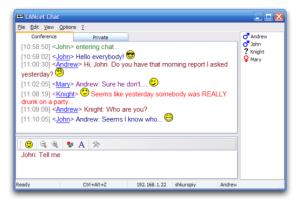 LANcetChat_Screenshot