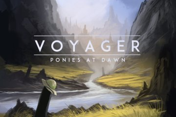 voyager_ponies_at_down
