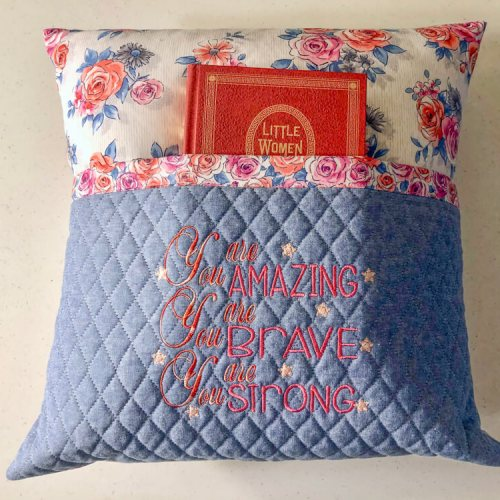 Reading Pillow-You Are Amazing 2