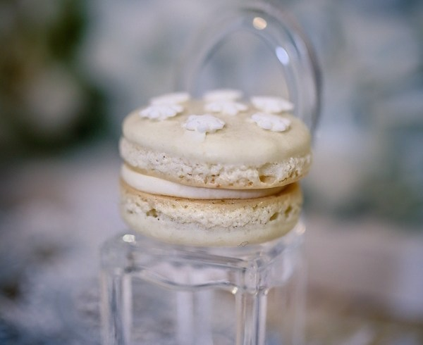 Winter White Chocolate Macarons-11860