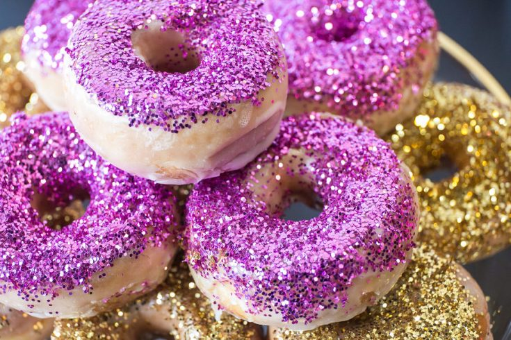 Glazed Glitter Donuts-14601