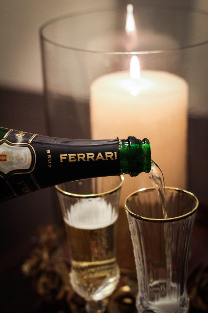 sparkling wine, emmy awards, governors ball, ferrari trento