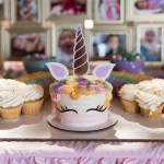 Unicorn Birthday, Party, Rainbow, Dessert Table