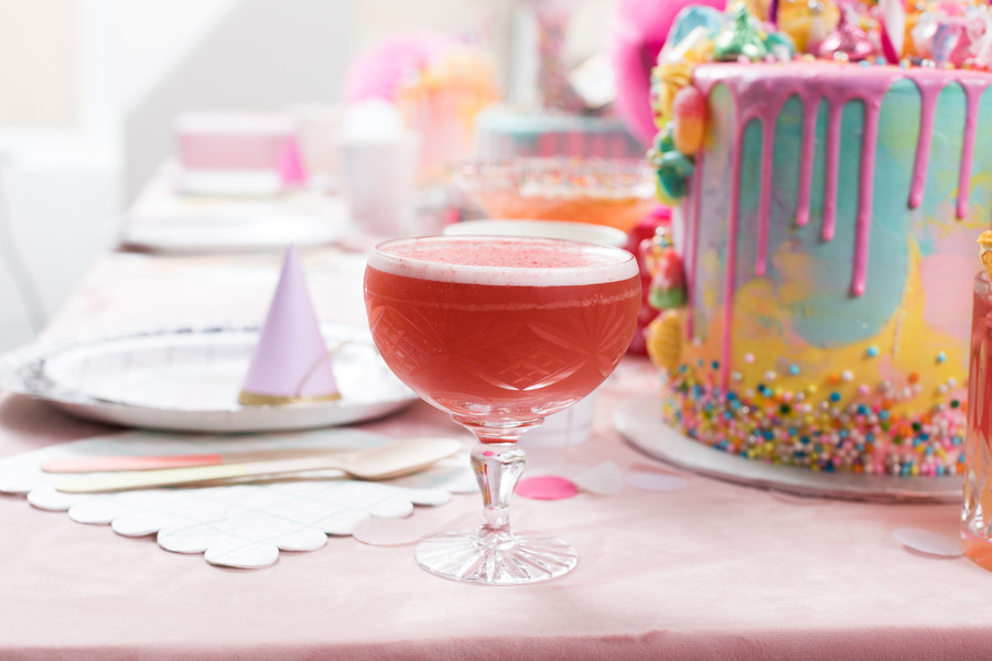 Van Clover Club Cocktail, birthday party
