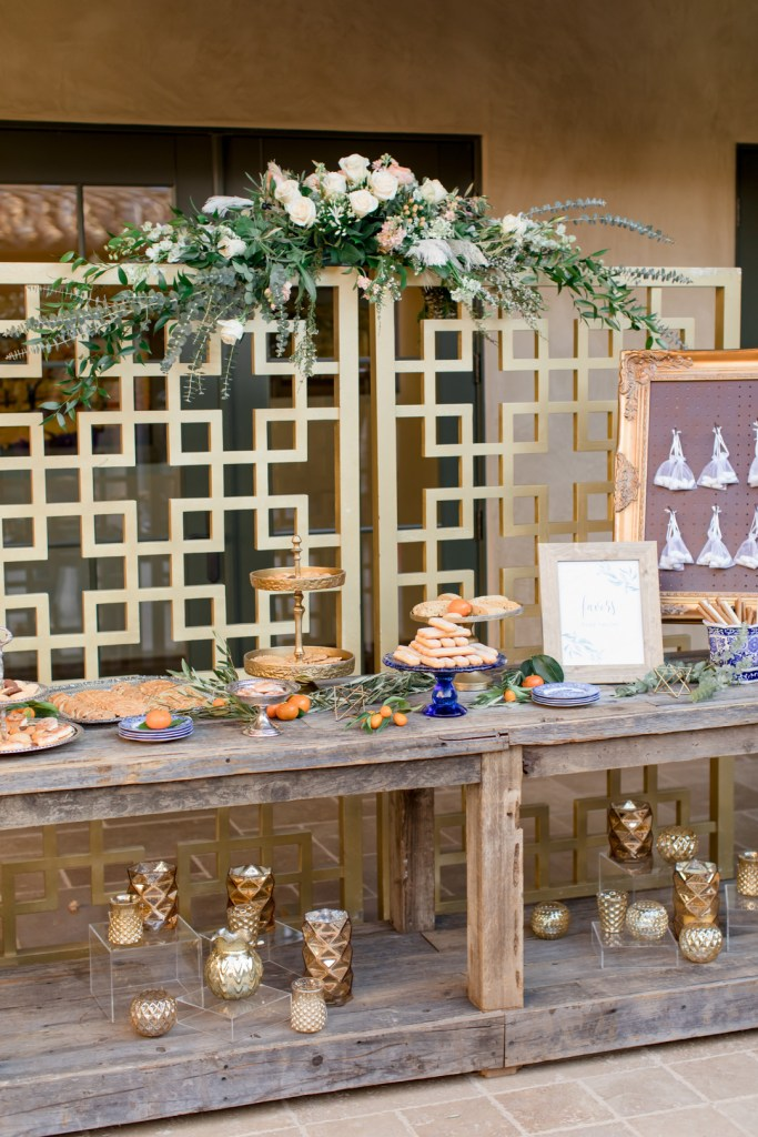 Italian Dessert Table