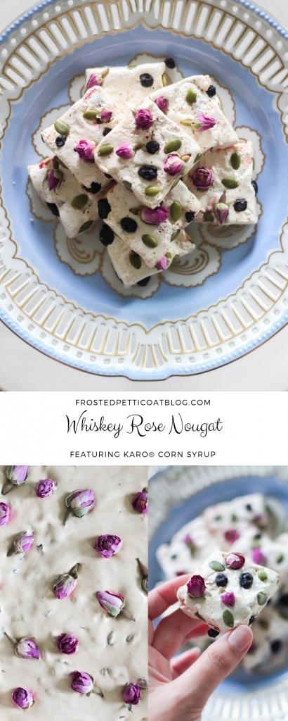 Whiskey Rose Nougat for Holiday Gifting