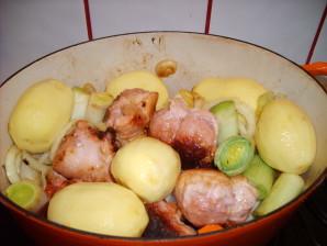 et les pommes de terre