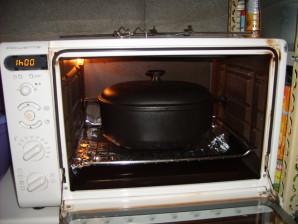 finir la cuisson au four