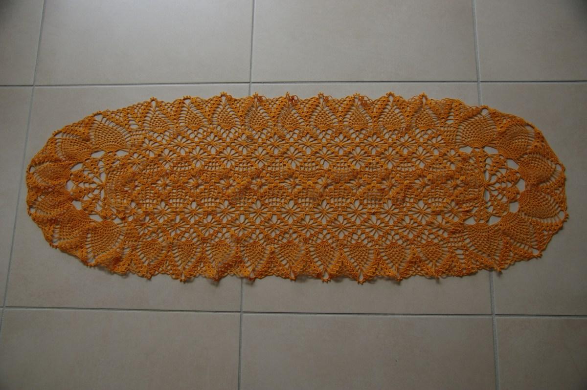 Travail réalisé en coton N°20 et crochet N°1,50