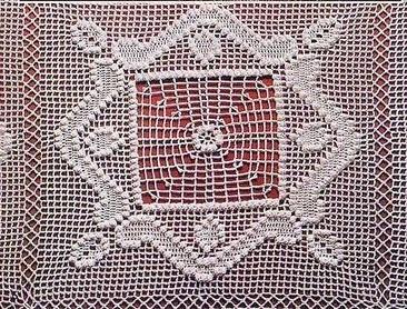 Le motif carré.