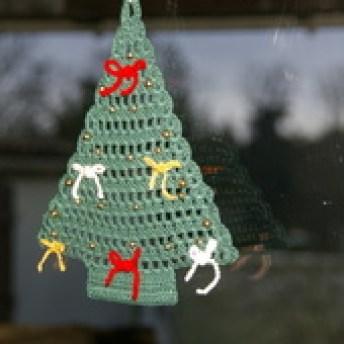 DECO NOEL AU CROCHET : sapin vert avec tuto - Le blog de crochet et tricot d'art de Suzelle