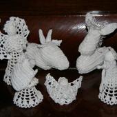 CROCHET : crèche de la Nativité AVEC TUTO - Le blog de crochet et tricot d'art de Suzelle