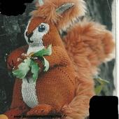 Tutoriel au tricot - un écureuil - Passionnement Créative