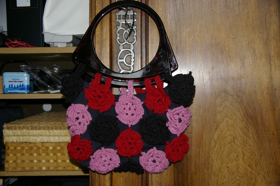 CROCHET : sac à fleurs TUTORIEL GRATUIT