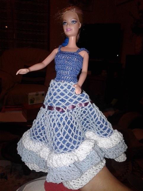 Robe de princesse. Le tutoriel suit