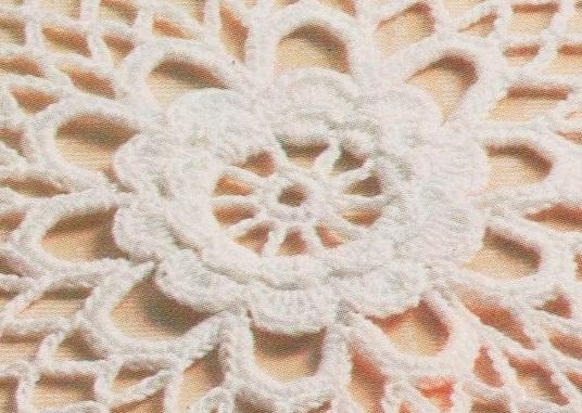 La fleur centrale